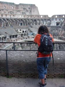 Guille en el Coliseo