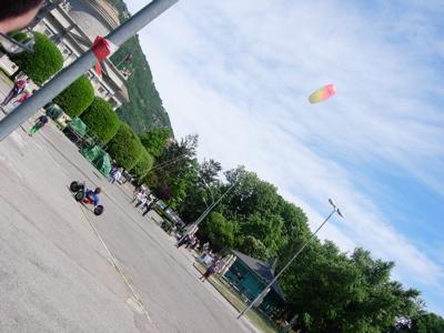 kite...driving?