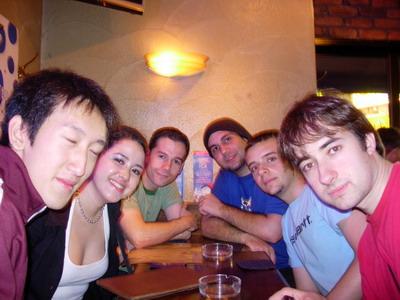 En un bar de Shibuya antes